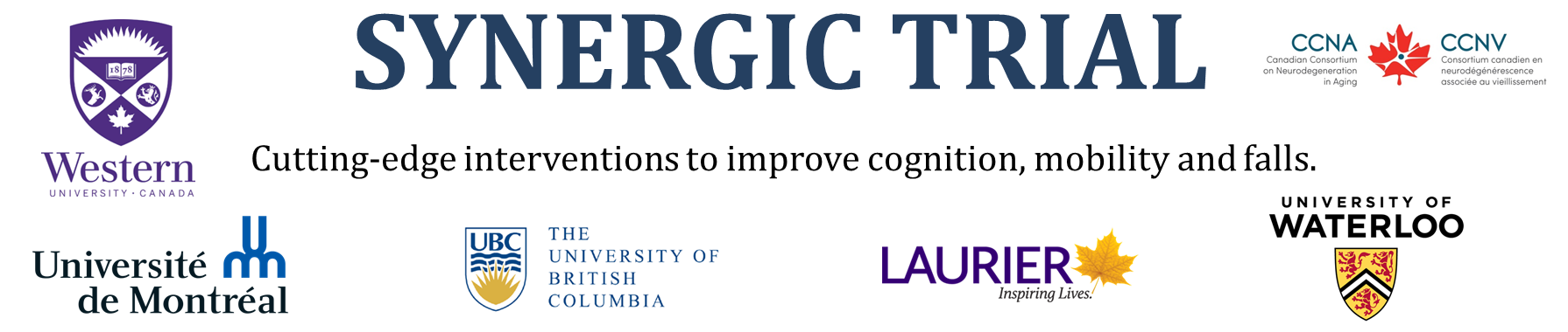 """CCNA Blog: """"Improving Mobility to Improve Cognition: SYNERGIC Trial"""